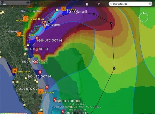Charleston SC Hurricane Matthew