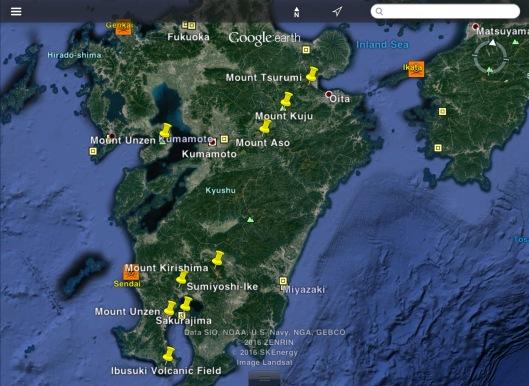 Mt. Aso Sakurajima Nuclear Power Stations