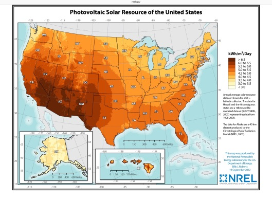 US NREL Solar