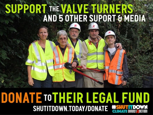 Valve Turners, Support and Media Legal Fund - Bail