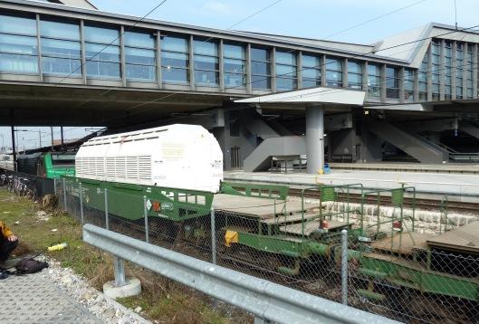 Castor Transport im Bahnhof SBB @ Basel by Patrik Tschudin, CC