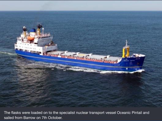 Oceanic Pintail  Sellafield NDA UK gov