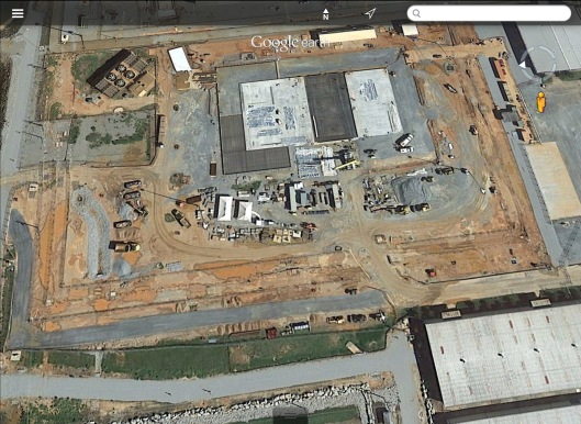 VC Summer AP 1000 construction site