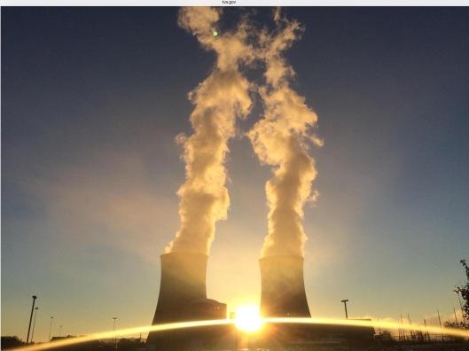 TVA Nuclear sunset