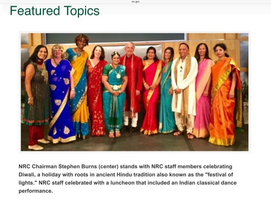 US NRC Hindu Festival Group Photo