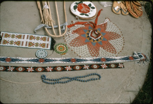 Vennum, Thomas. Paiute Indian Beadwork. August, 1978. Image. Retrieved from the Library of Congress