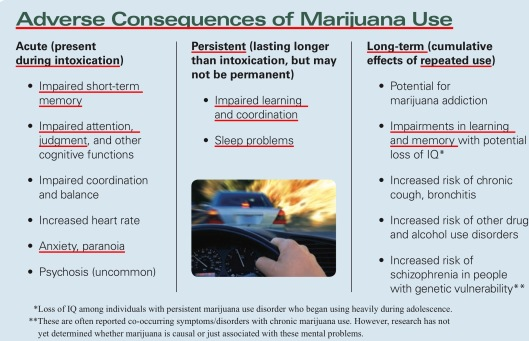 Impacts of smoking marijuana NIH