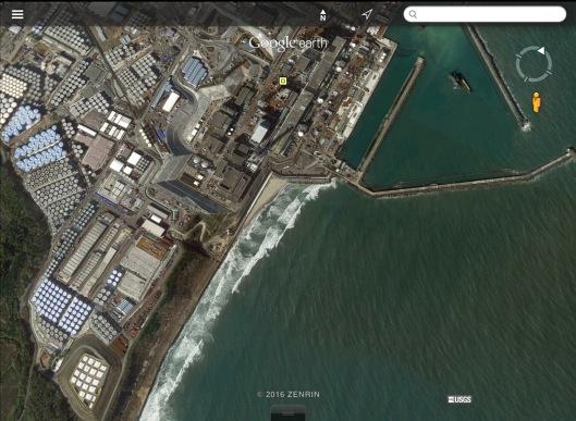 Fukushima Daiichi Reactors Water