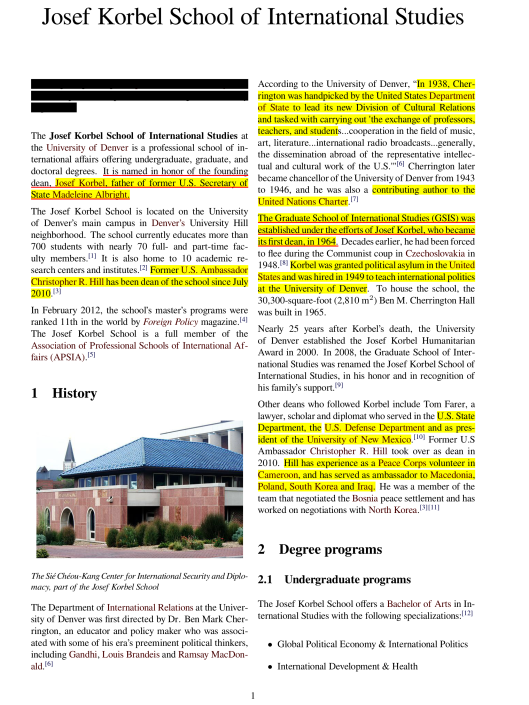 Josef Korbel School of International Studies, Wikipedia CC p. 1