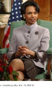 Condoleezza Rice, Korbel grad