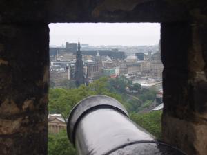 Cannon Edinburgh Castle