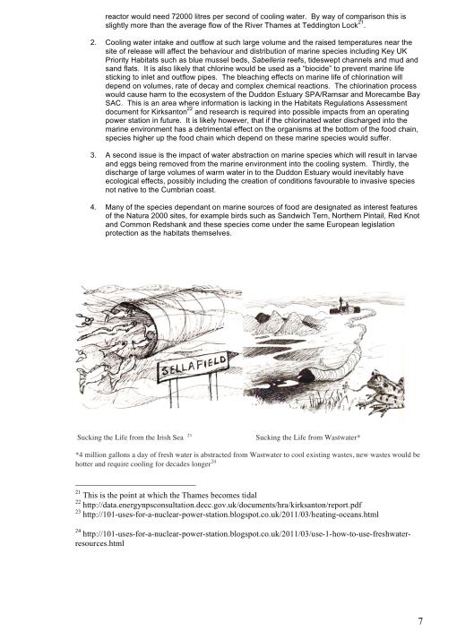 "Moorside, ""Biggest New Nuclear Development in Europe"", Myth vs. Reality RAFL, p. 7"