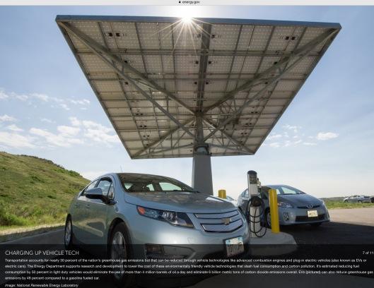 Solar charging electric cars US NREL gov