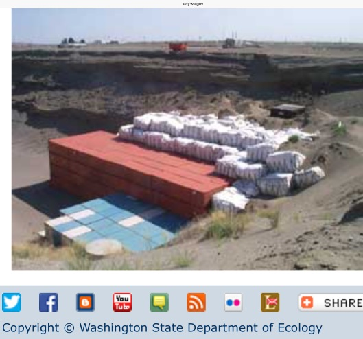 Hanford LLW dump WA Gov Photo