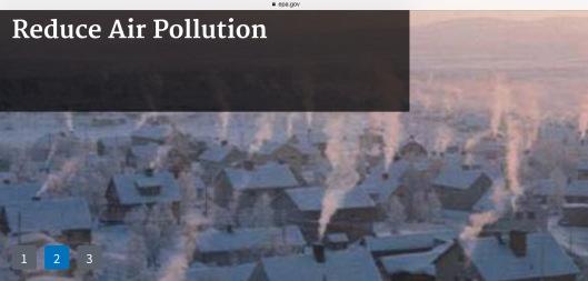 Reduce air pollution chimneys