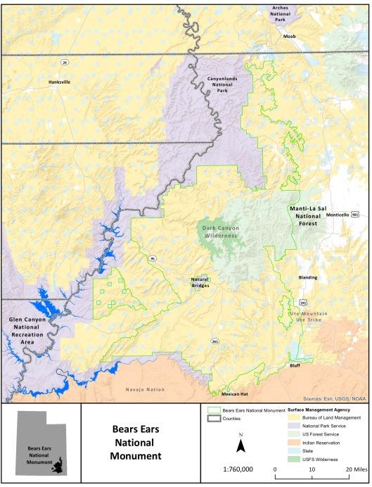 Bear Ears National Monument Final Proclamation