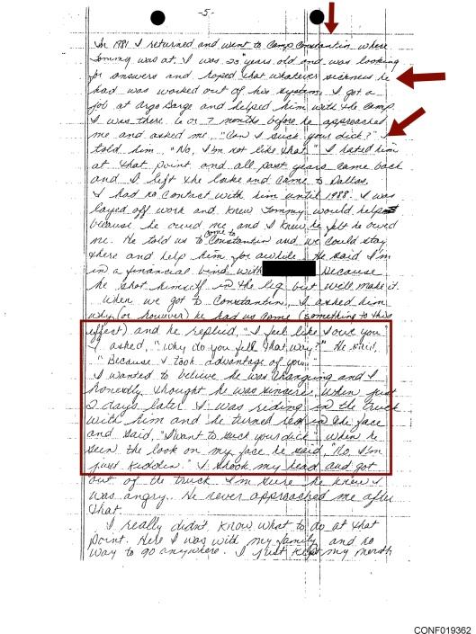 Tommy Speed Boy Scouts pedophiles testimony p. 5