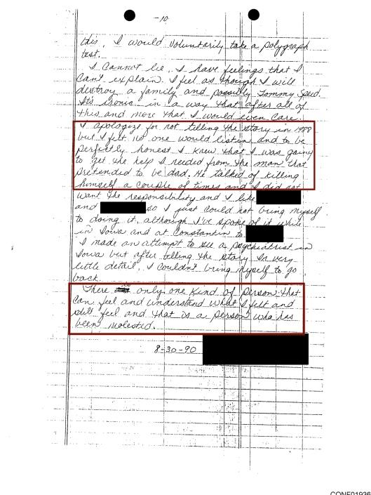 Tommy Speed Boy Scouts pedophiles testimony, p. 10
