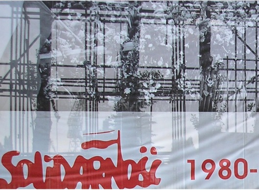Solidarity 1980 to 2005 cropped, released to public domain via Wikimedia