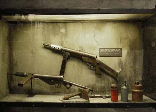 Polish resistance weapons
