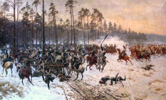 Battle of Stoczek by Jan Rosen 14 February 1831 Polish November Uprising Against Russian Empire