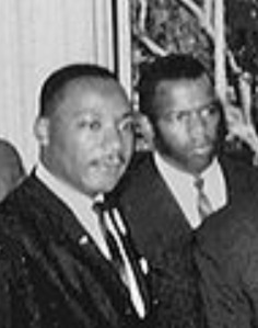 Martin Luther King and John Lewis