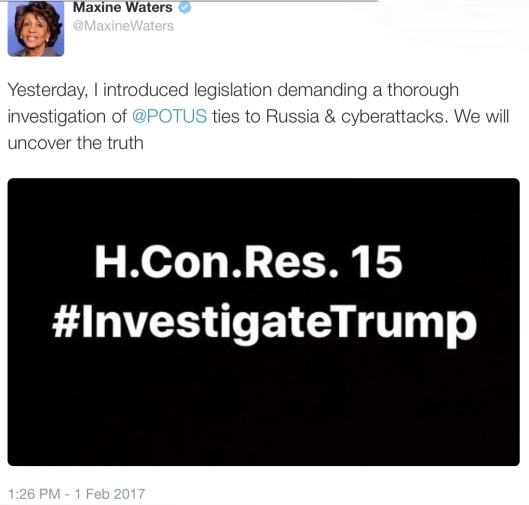 House Congressional Resolution 15 #Investigate Trump