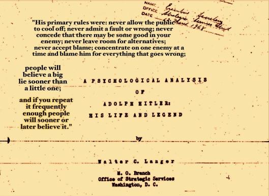 Hitler Psych Analysis