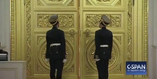 1 Dec. 2016 C-Span awaiting Putin