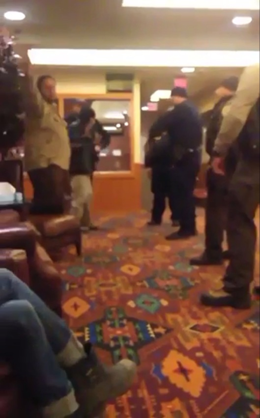 Madrigal-Alcaraz Enrique Kurthland Video Standing Rock Casino American Indian hands up
