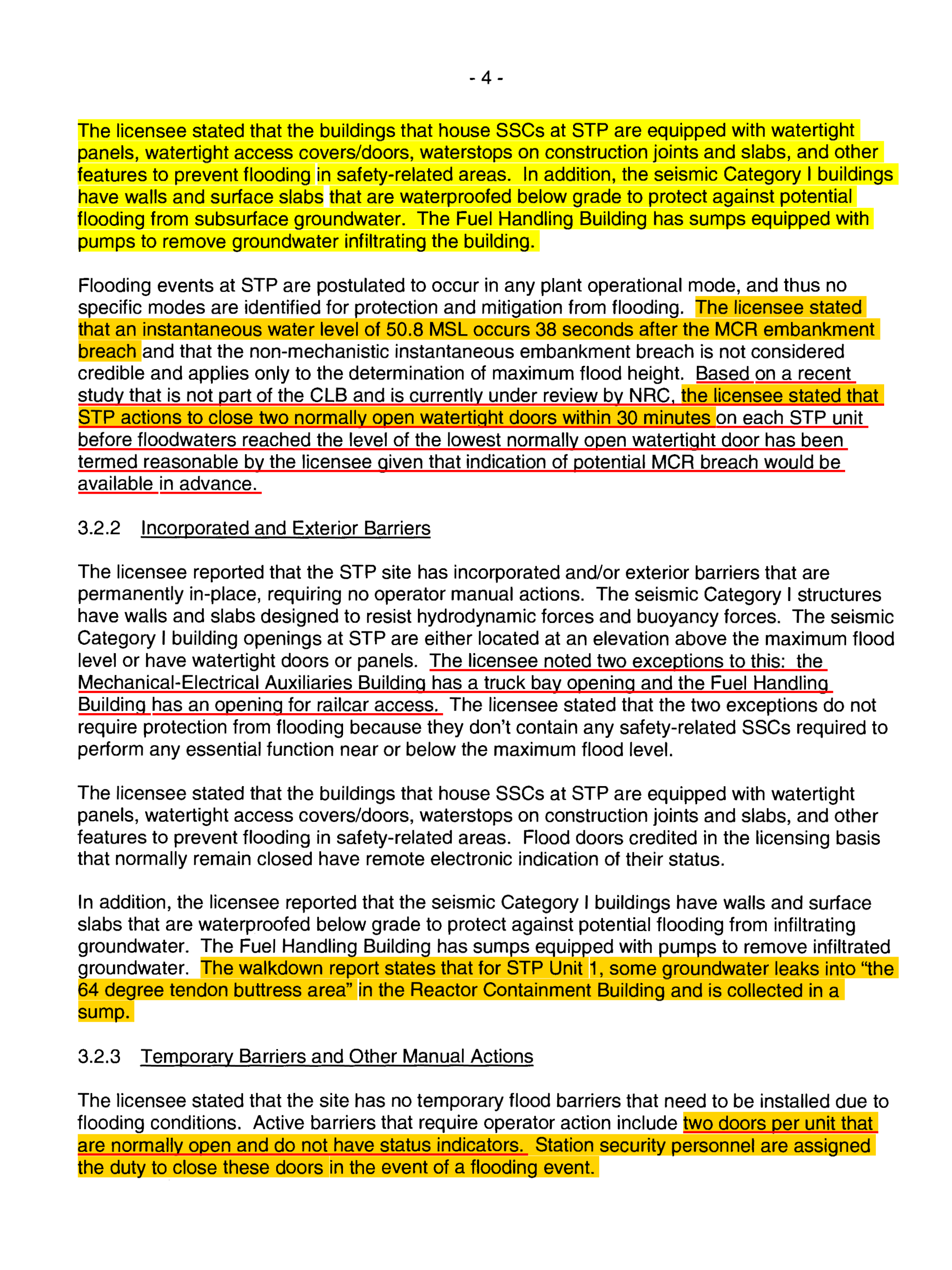 u201cSOUTH TEXAS PROJECT UNITS 1 AND 2- STAFF ASSESSMENT OF THE FLOODING WALKDOWN REPORTu201d //.nrc.gov/docs/ML1415/ML14150A191.pdf  sc 1 st  Mining Awareness + - WordPress.com & South Texas Nuclear u2013 Is It Really Watertight? If The Dam Fails Can ...