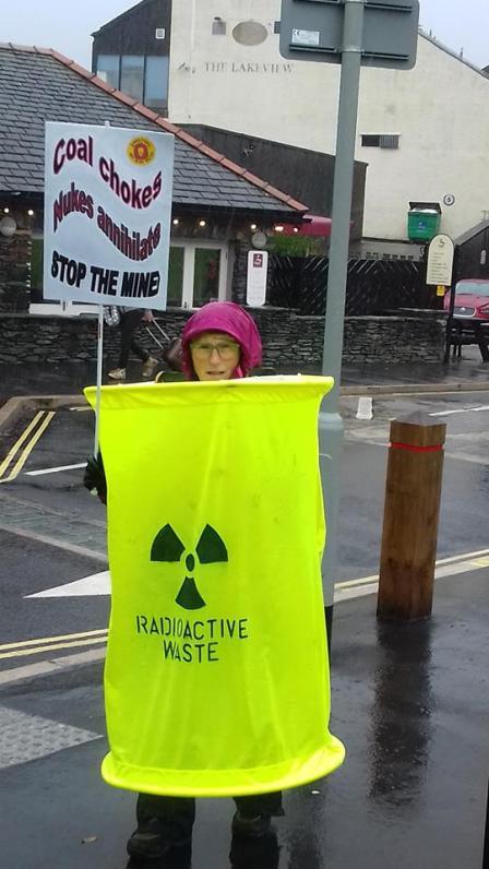 Coal Chokes, Nukes annhilate, Stop the mine