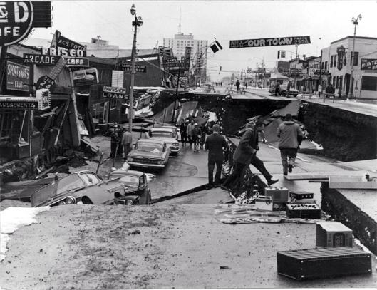 Great Alaska Quake 1964 US Army