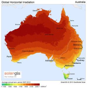 SolarGIS © 2015 GeoModel Solar Australia