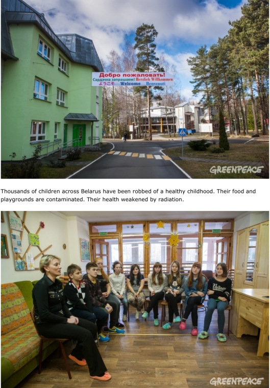 Chernobyl Children of Hope Greenpeace top pics