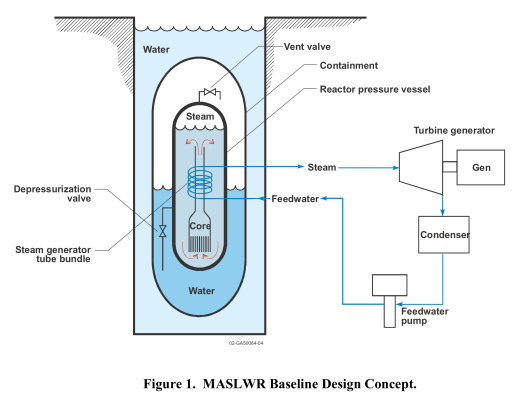 MULTI-APPLICATION, SMALL, LIGHT WATER REACTOR (MASLWR) INEEL/EXT-04-01626 now known as NuScale