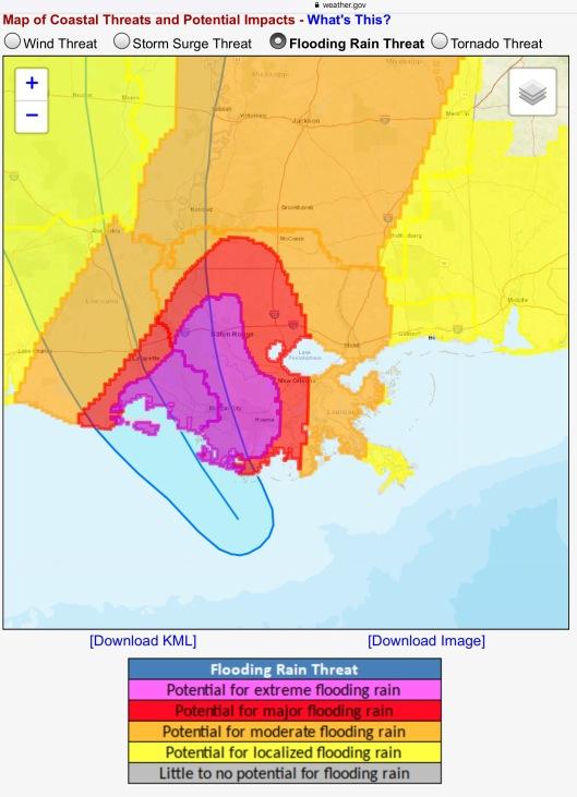 Tropical Storm Barry 4 pm Location-Advisory #10; 4:54 pm ... on noaa storm surge sandy, noaa storm surge prediction, 2003 tropical storm tracking maps, noaa sea level rise maps,