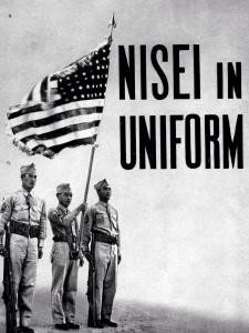 Nisei in Uniform US Dept Interior WRA War Dept.